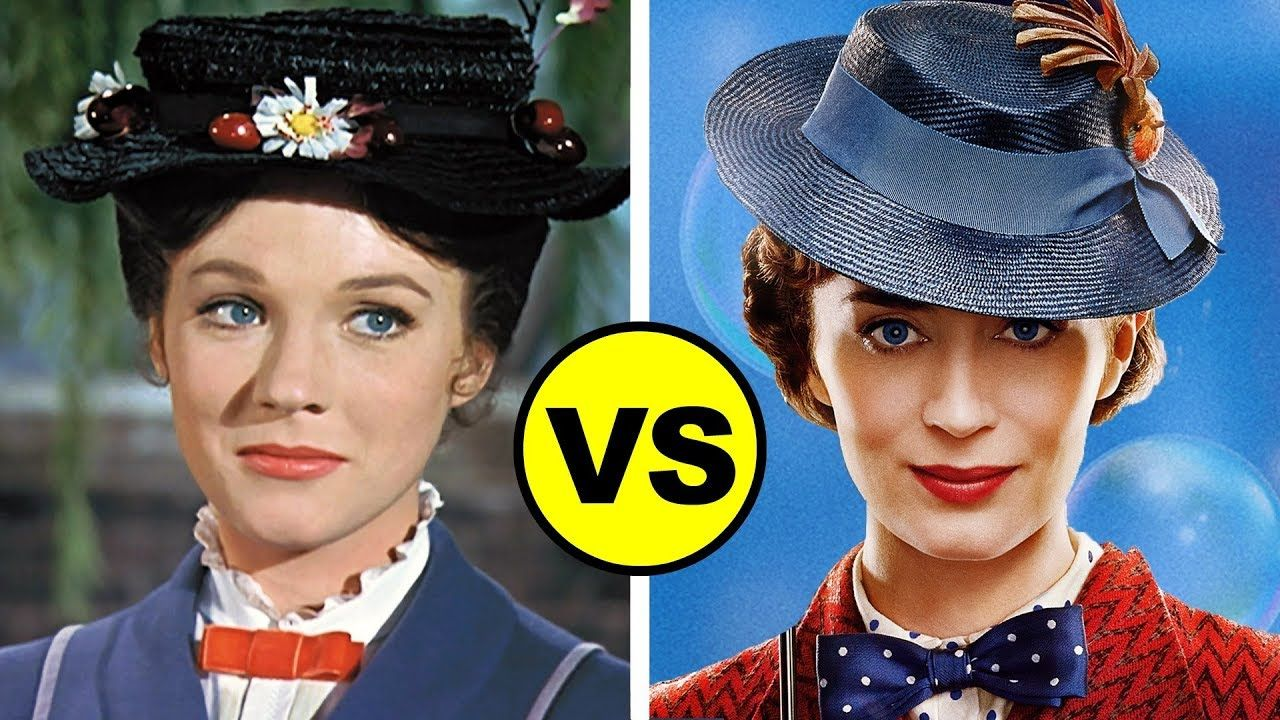 Mary Poppins Returns Vs Mary Poppins 1964 Mary Poppins 1964 Mary Poppins Mary Poppins Movie