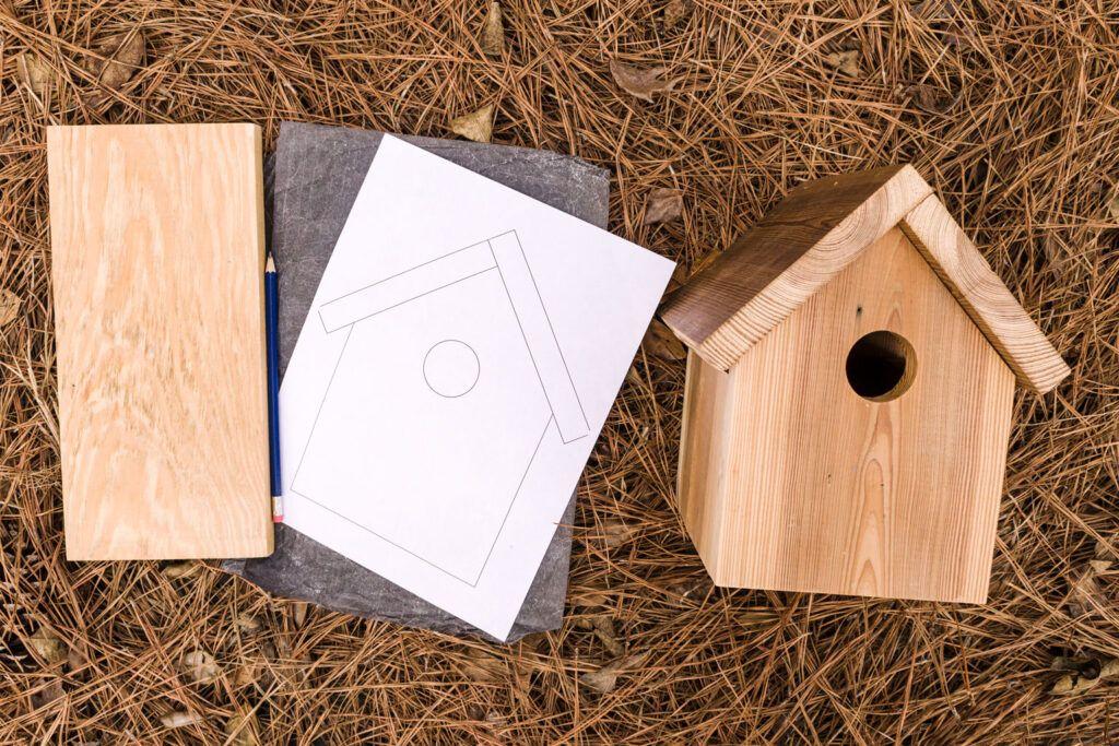 Easy Birdhouse Plans Step by Step Kippi at Home