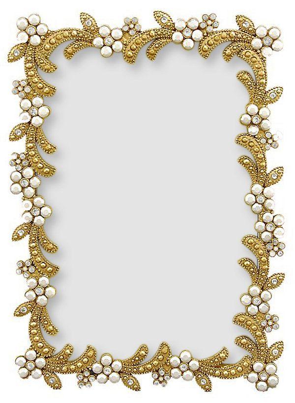 One Kings Lane - Little Treasures - Swirl Gold Frame, 5x7