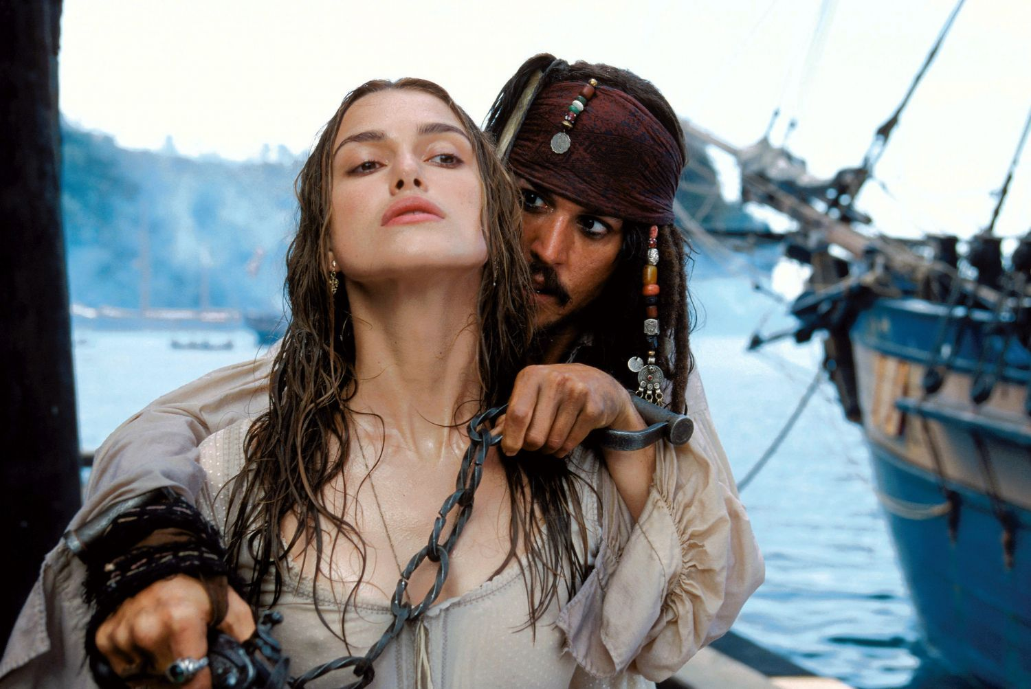 Pirates of the Caribbean: The Curse of the Black Pearl - Movie stills