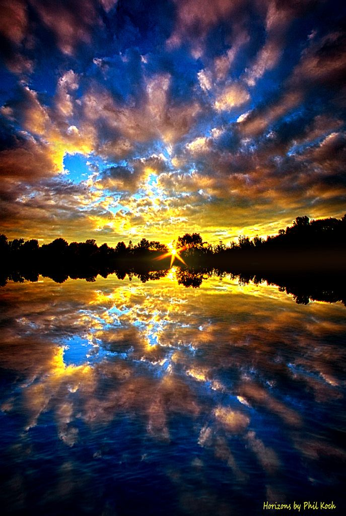 """Milwaukee, Wisconsin, USA """"Forever Dreaming""""  Horizons by Phil Koch."""