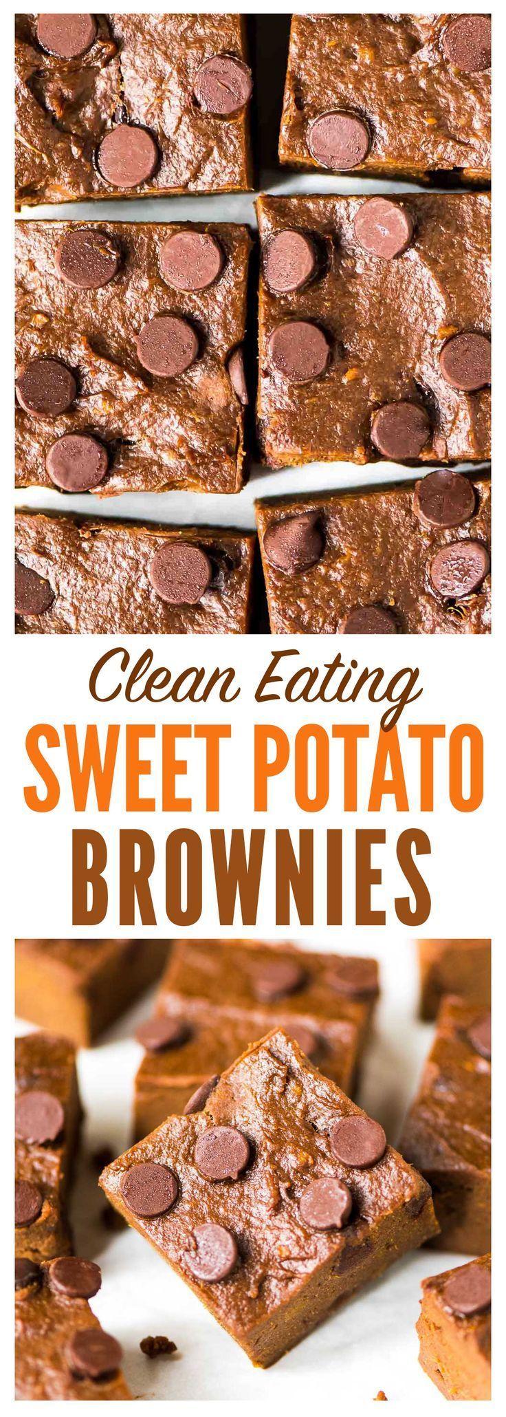 All Things Savory Sweet Potato Brownies Sweet potato