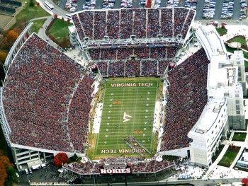 The Hokie Pokie Is What It S All About Blacksburg Is A Special Place Virginia Tech Virginia Tech Football Virginia Tech Hokies