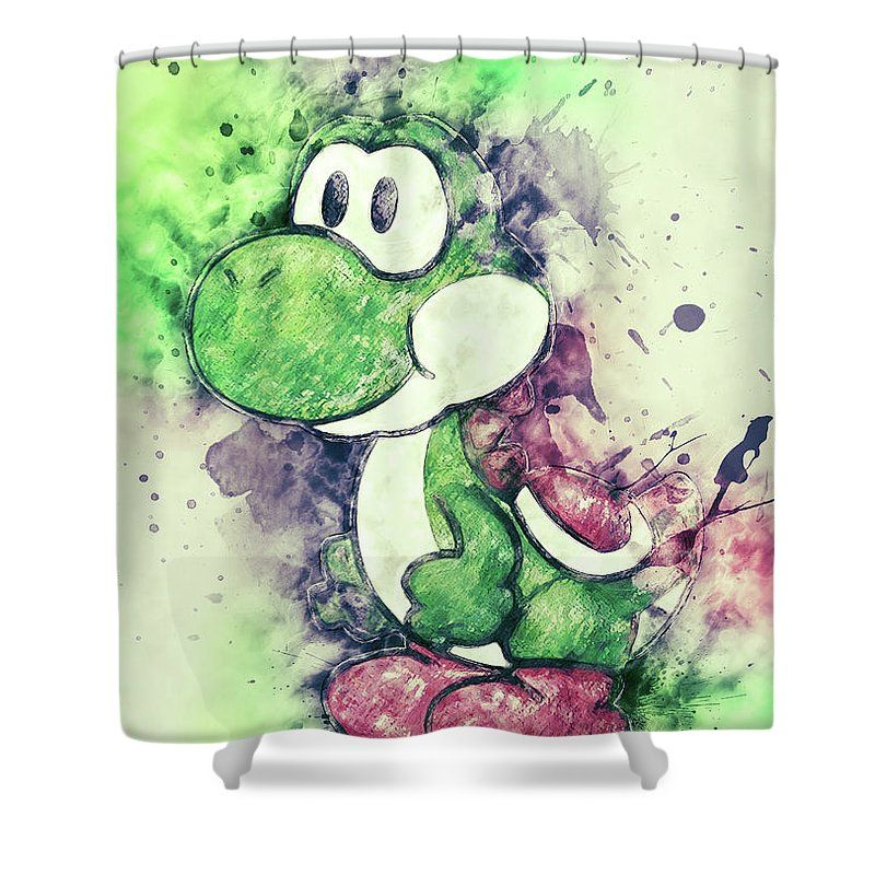 This Shower Curtain Is Made From 100 Polyester Fabric And Includes 12 Holes At The Top Of For Simple Hanging Total Dimensions