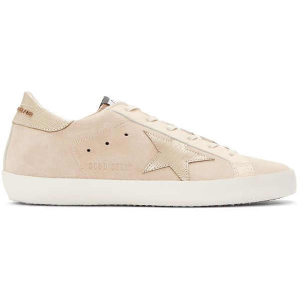 Beige Superstar Lace-Up Leather Trainers Golden Goose iGZyj2bDqQ