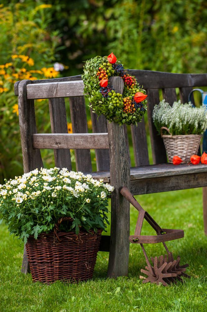 60 Garden Bench Ideas Photos Wooden Garden Benches Garden In