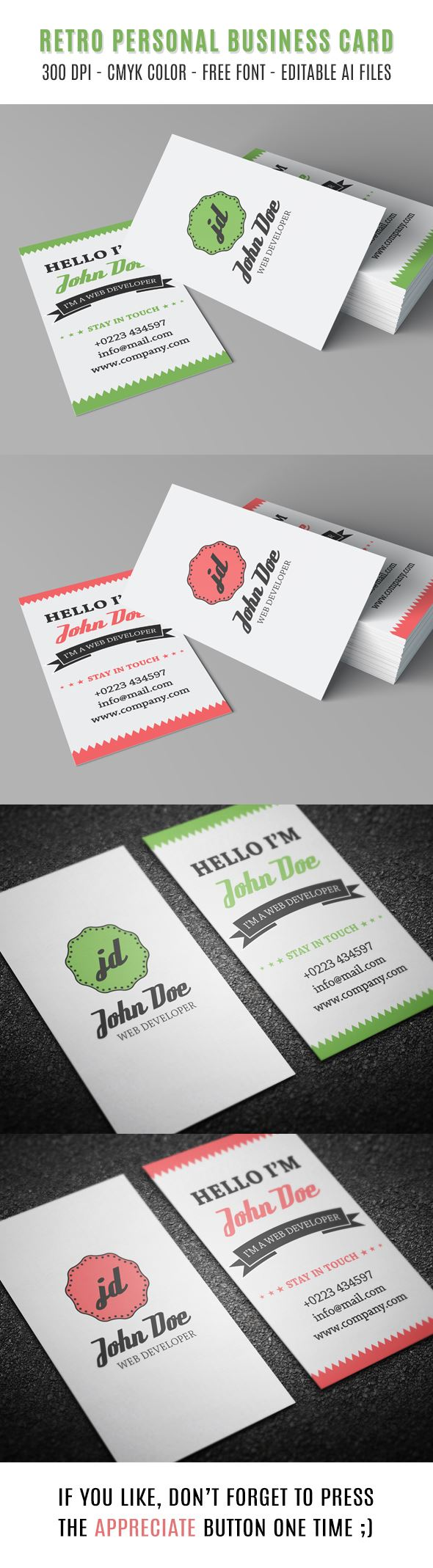 20 Free Printable Templates For Business Cards Card Pinterest