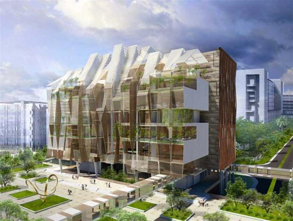 National Heart Center Architecture in Singapore from Broadway Malyan