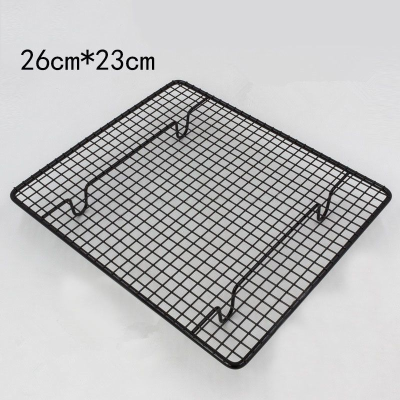 26 23cm Cooling Racks Small Size Black Non Stick Thickening