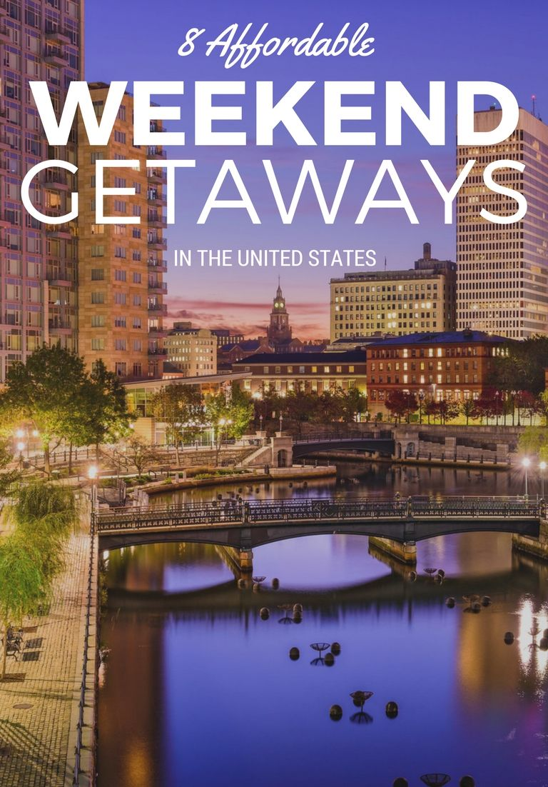 8 best cheap weekend getaways in the u.s. | us travel and design