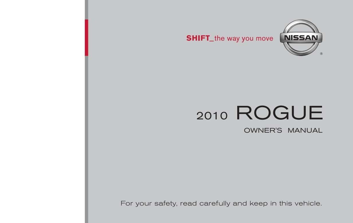 Nissan Rogue 2010 Owner S Manual Has Been Published On Procarmanuals Com Https Procarmanuals Com Nissan Rogue 2010 Owners Nissan Rogue Owners Manuals Nissan