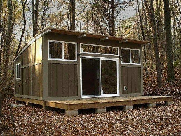 Gentil 16u0027x20u0027 PreFab GRANNY POD Cabin ~ Can Go OFF GRID ~ 3 Designs