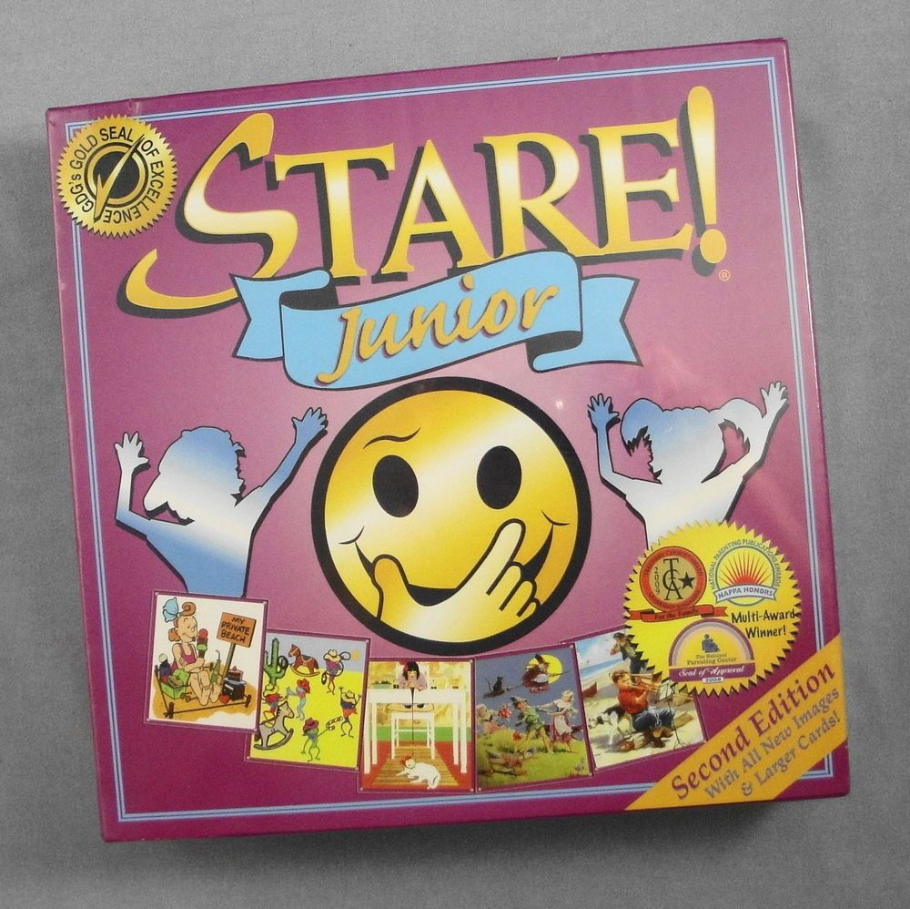 Stare Junior Game 2nd Edition Educational Fun Memory
