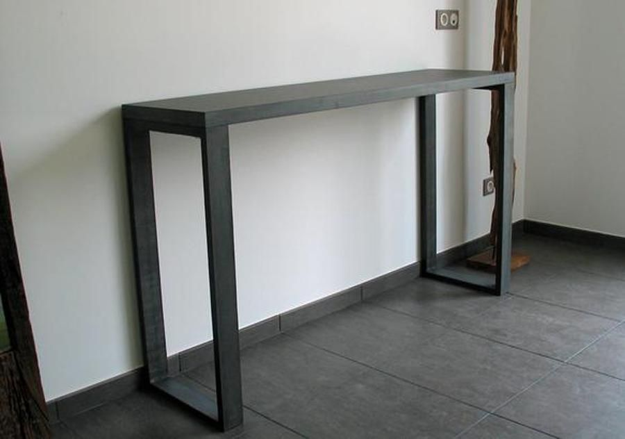 Image For Cute Skinny Console Table