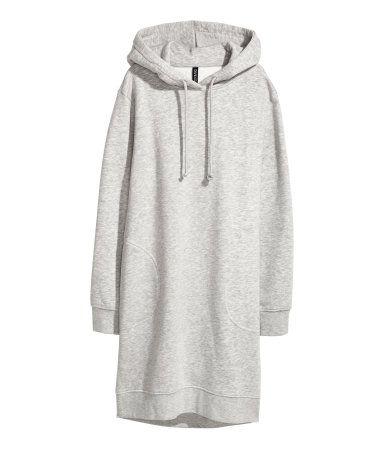 efc7d454812 Hooded Sweatshirt Dress