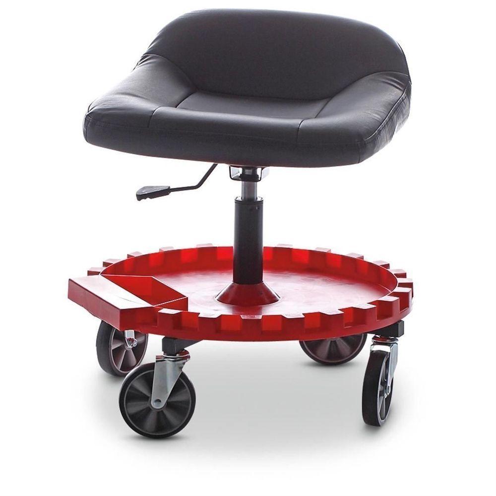 Tool Storage Organizer Stool Garage Drawer Tray Seat Chair Mechanic Furniture Mechanics Furniture Work Chair Garage Stool