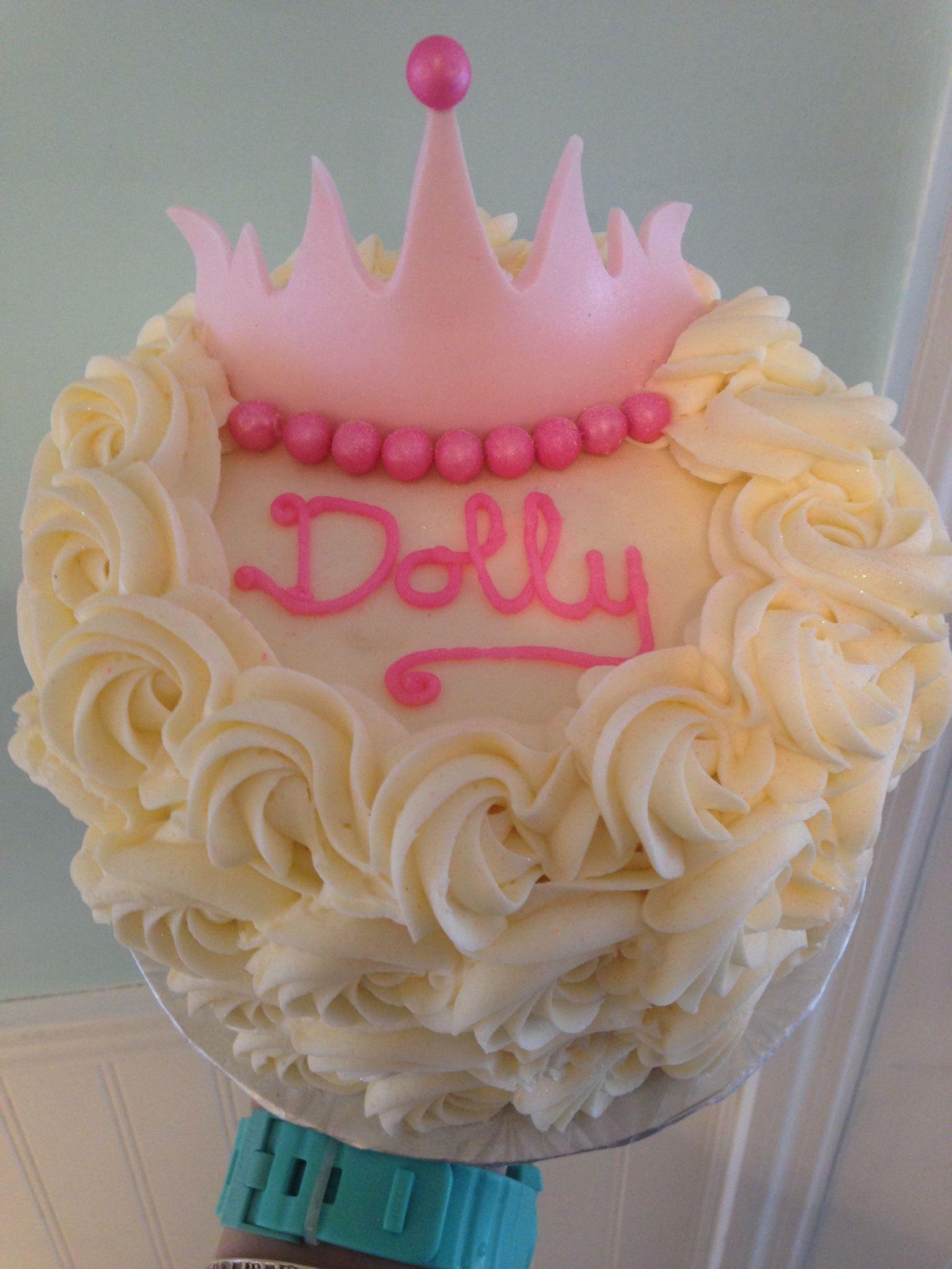 Princess Tiara Birthday Cake From Sweet Savannahs In Marathon