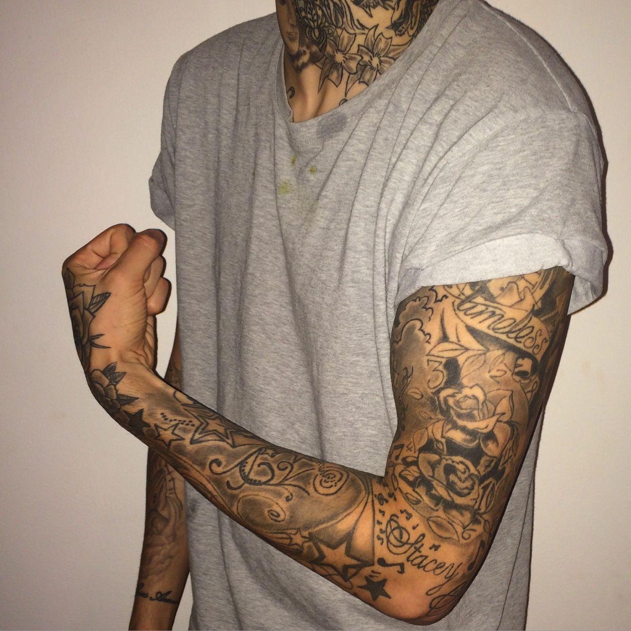 WALKING CONTRADICTION Sleeve tattoos, Tattoos, Full arm