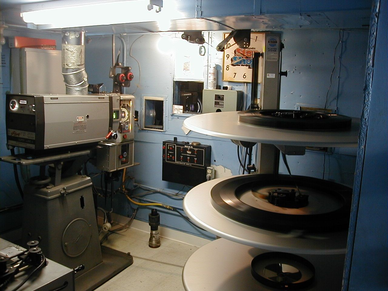 Projection Booth With Platter Cinema Design Photography Gear Movie Theater