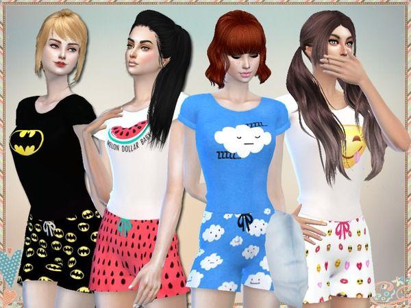 pijamas para the sims 2