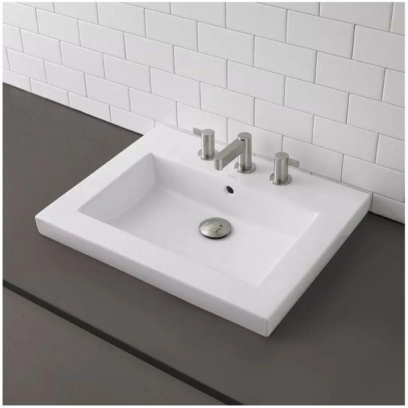 Decolav 1419 8 Above Counter Bathroom Sink Modern Bathroom Sink