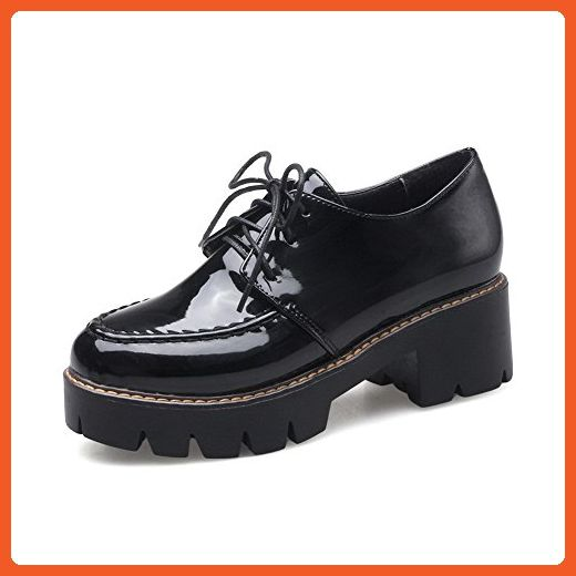 womens chunky lace up shoes
