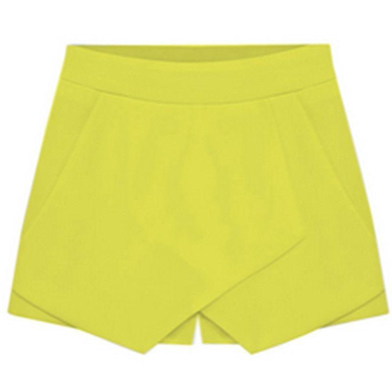 Fashion Mini short skirt Sexy women shorts Irregular Low Waist Cotton Shorts Skirt Shopping Business skirt underskirt E3406