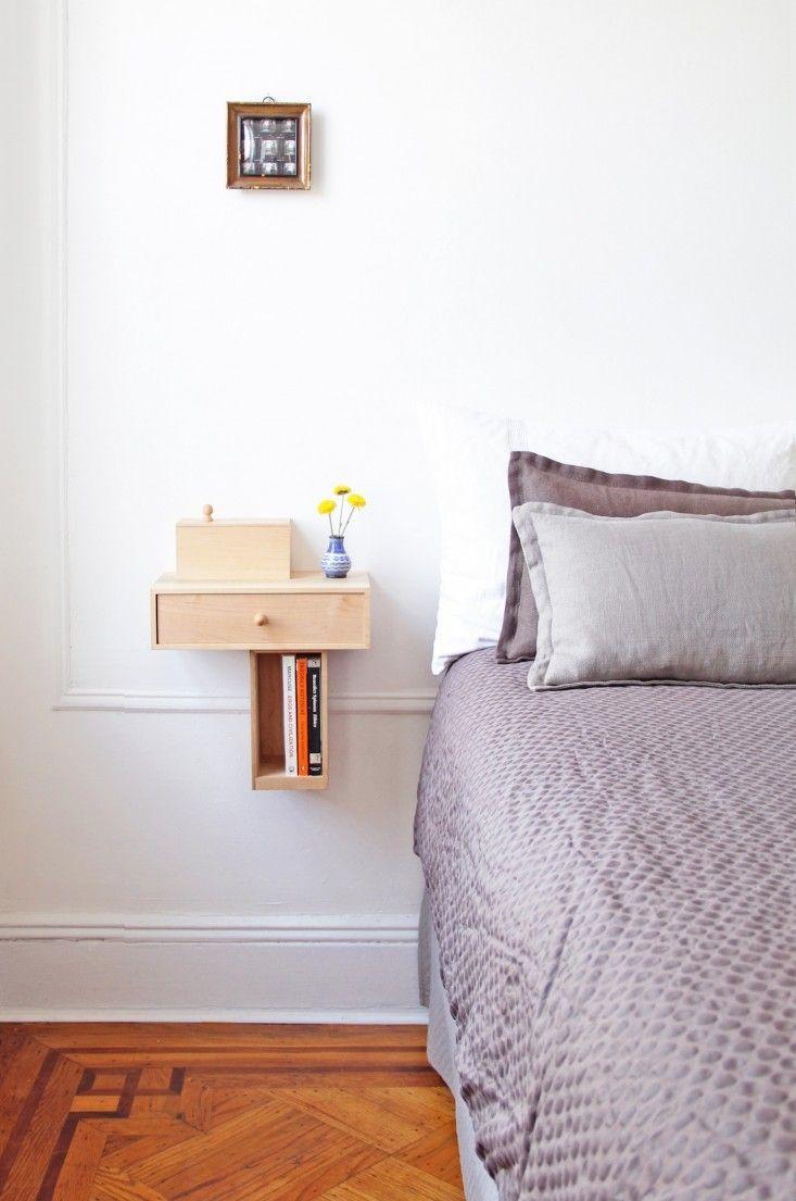 Pelle Bedside Console 2 Remodelista Wall Mounted Table Shelf
