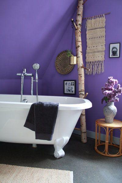 10 Kreativ-Ideen für mehr Wohnlichkeit im Badezimmer Cabin - farbe fürs badezimmer