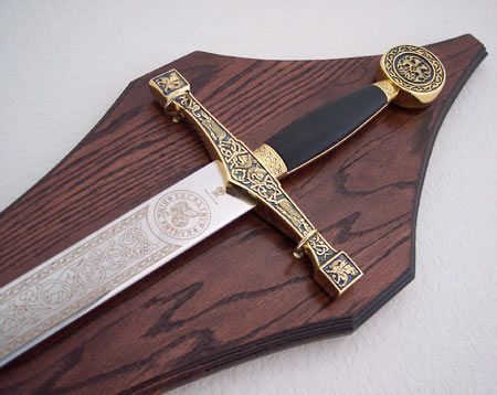 How To Make A Wall Hanging Sword Plaque Sword Display Wall Hanging Sword