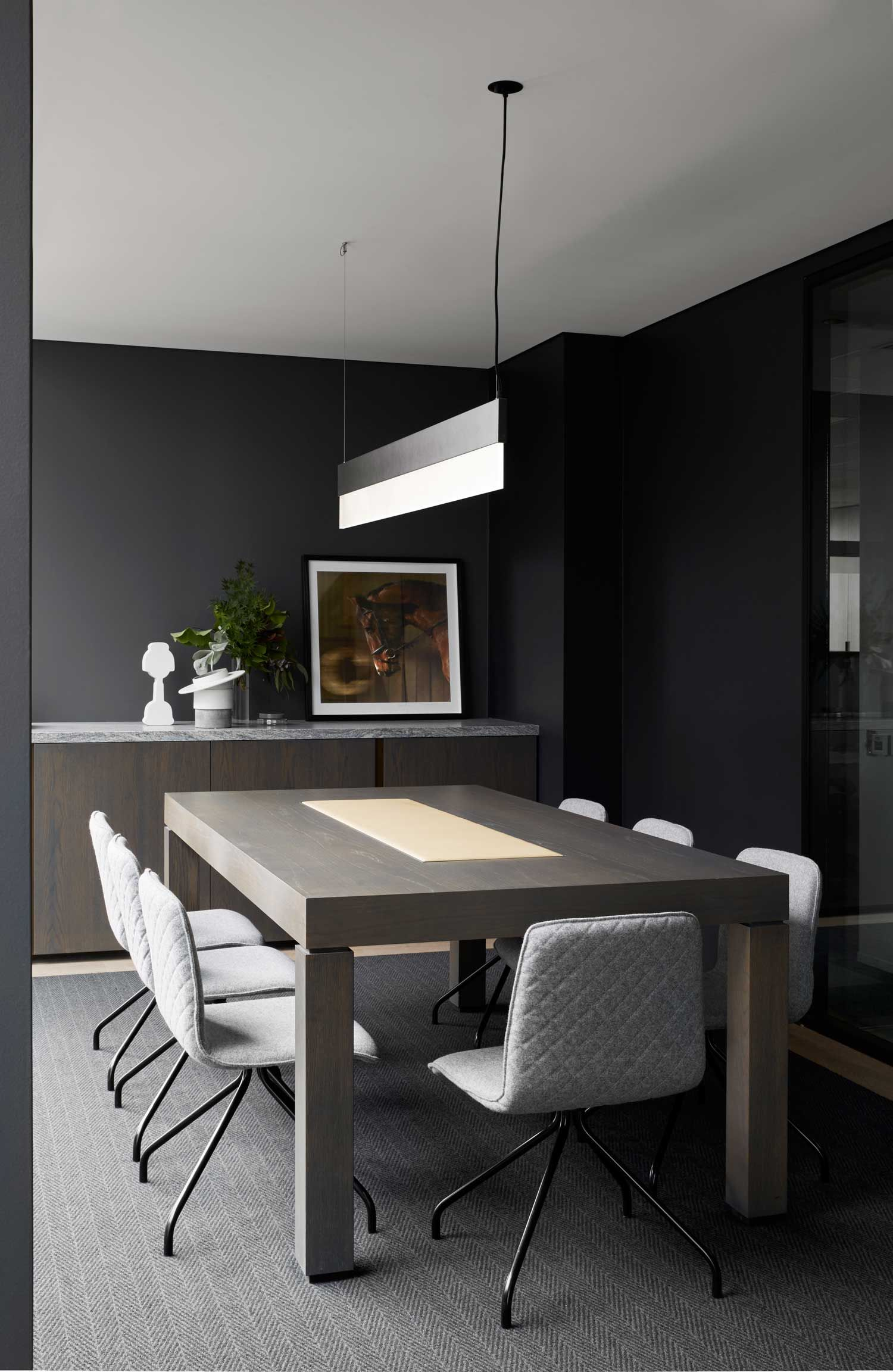 Interior Design Office Table