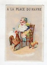 CLK] FIGURINA CROMOS TIPO LIEBIG - A LA PLACE DU HAVRE PARIS ...