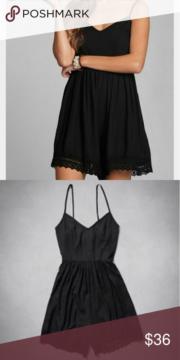 Abercrombie & Fitch Valerie romper Like new! Comfy, lightweight and girly! Perfect summer travel! Abercrombie & Fitch Dresses Mini