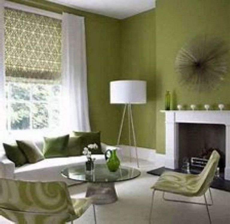 42 Wonderful Green Colors Accents To Your Home Decoration Living Room Green Brown And Green Living Room Green Living Room Paint