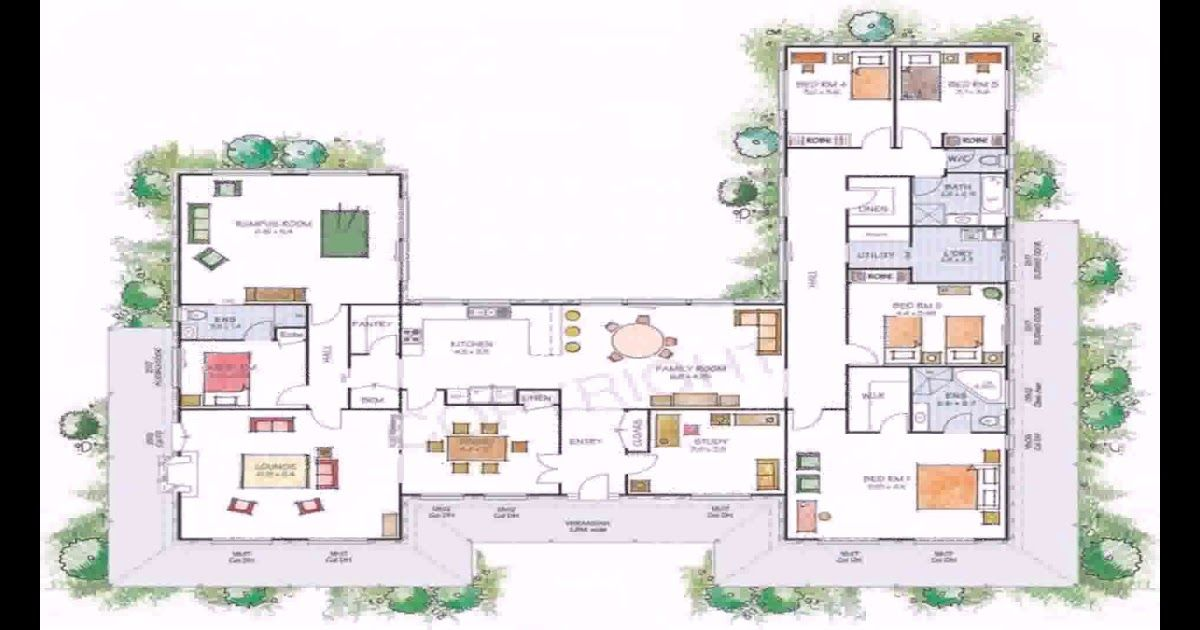 U Shaped Home Designs Need Some Inspiration Today Regarding The Modern U Shaped House Plans Right N Modern Floor Plans Simple Floor Plans Bedroom Floor Plans