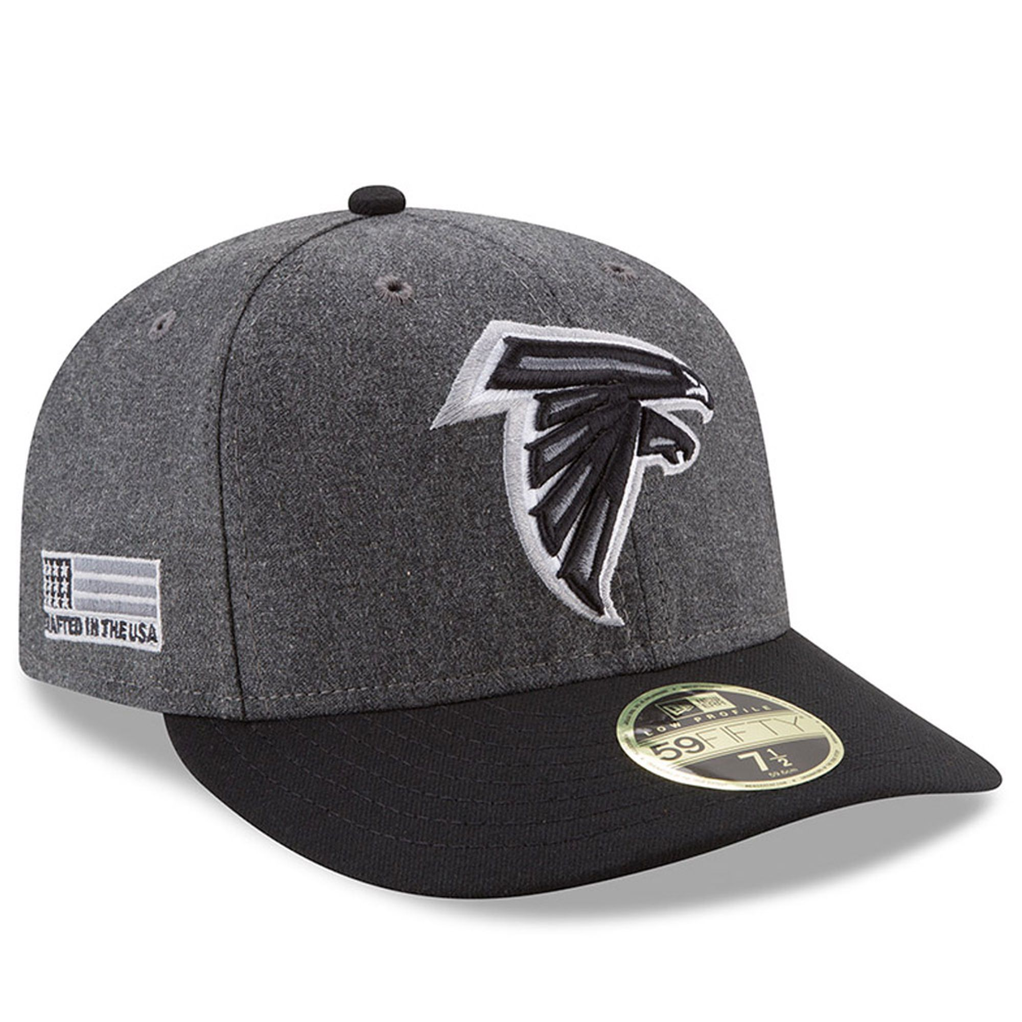 New Era Atlanta Falcons Heather Gray/Black Crafted in the