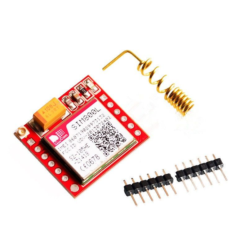 SIM800L GPRS GSM Module Smallest With Antenna Card Board Quad-band Onboard TTL