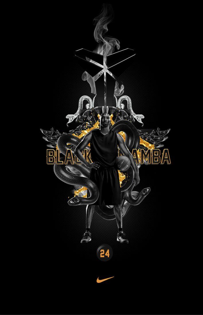 Black Mamba On Behance Kobe Bryant Black Mamba Kobe Bryant Black Mamba