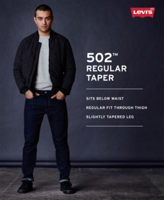 db7c735dbc5 Levi's Men 502 Taper Soft Twill Jeans | Products | Tapered jeans ...