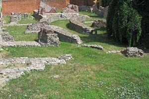 Il palazzo imperiale di Mediolanum di via Brisa