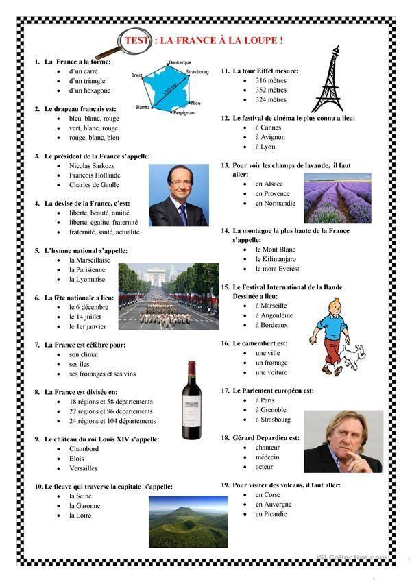 LANGUE FRANCAISERU  Test de francais  frenchlanguageru