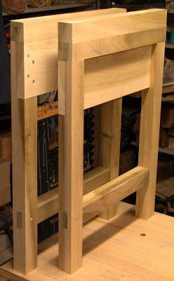 Banco carpintero desmontable mesas de trabajo y for Mesa plegable trabajo