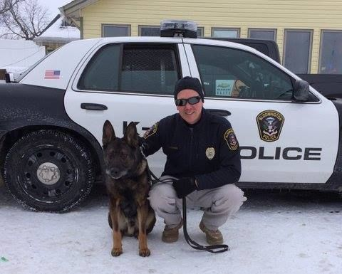K9 Caine Of The Bloomington Mn Police Department Military Working Dogs K9 Officer Working Dogs