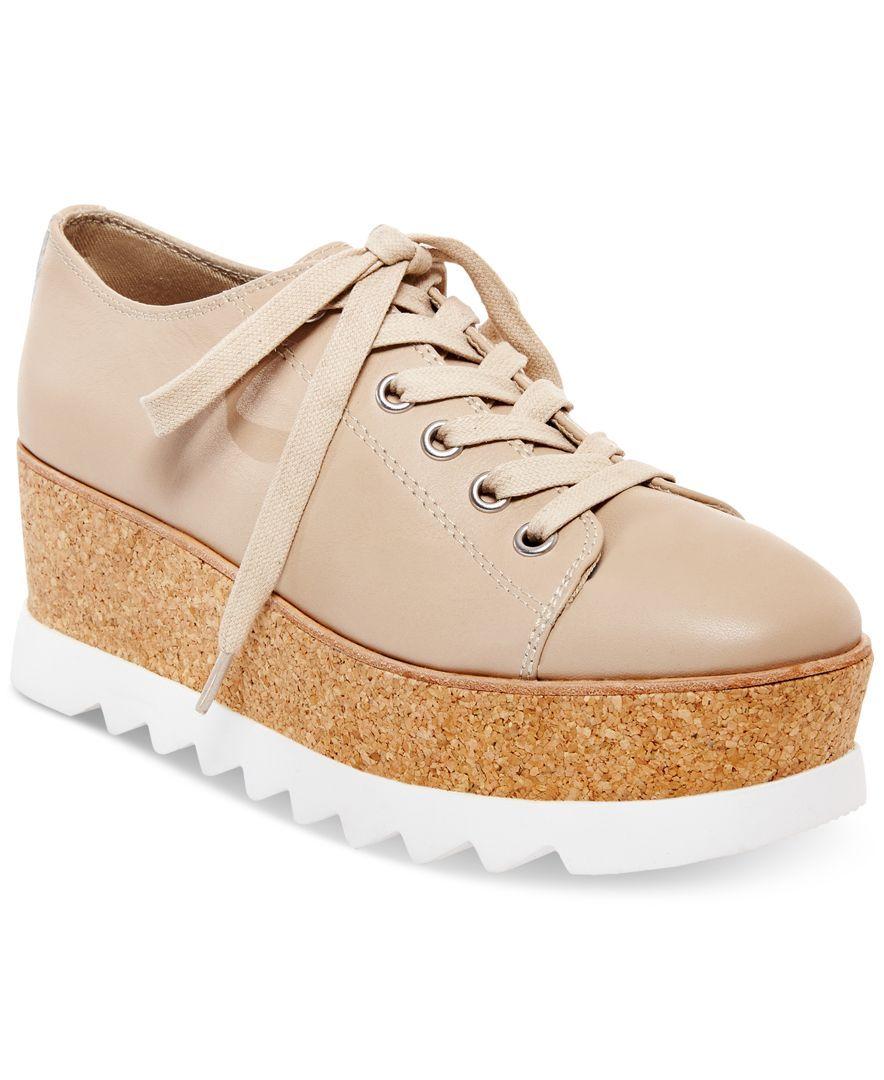 3a105cb0123 Steve Madden Women s Korrie Lace-Up Platform Sneakers