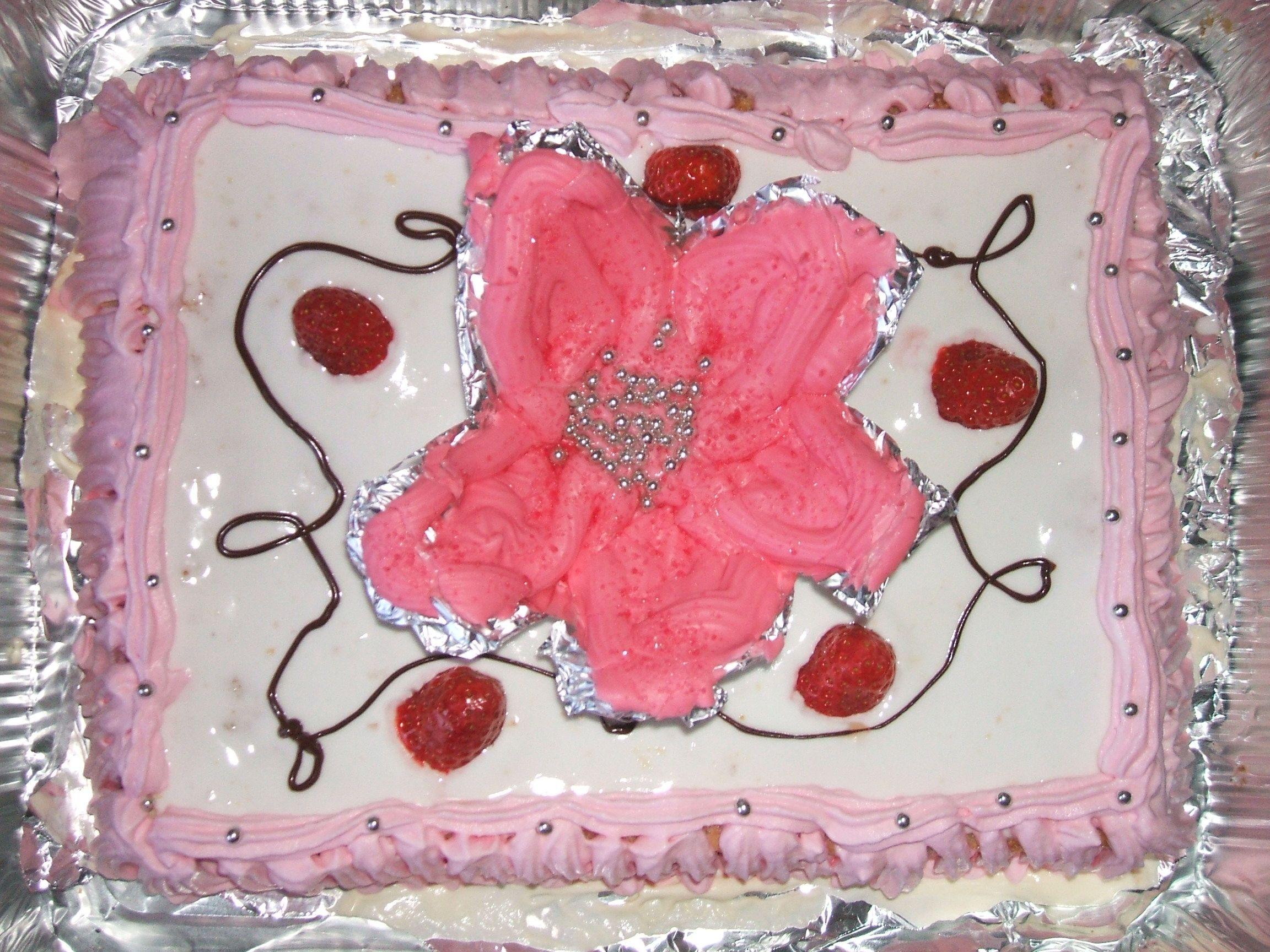 Granny's 70th birthday's cake!