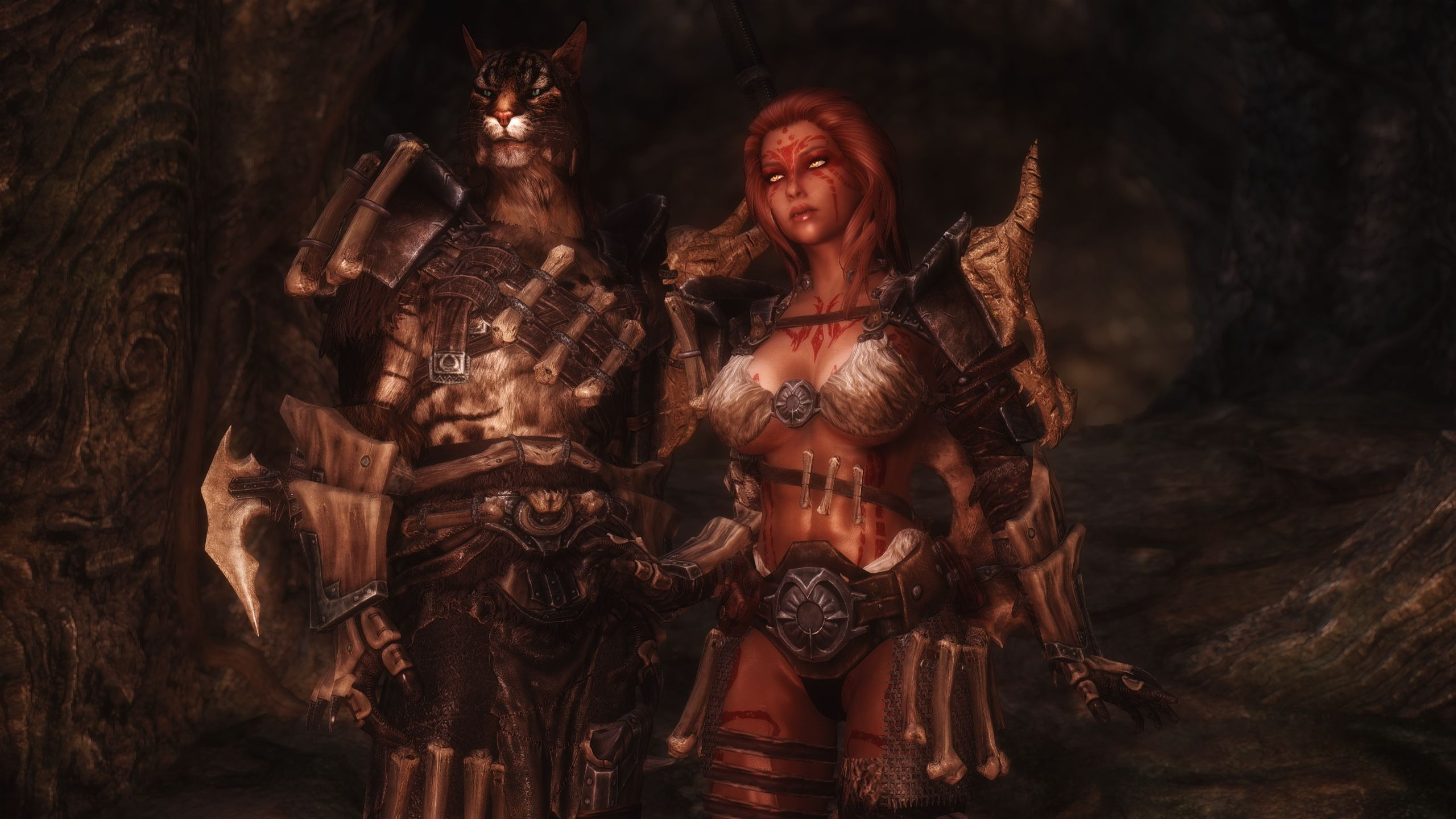 Dragonbone Barbarian Armors At Skyrim Special Edition Nexus Mods And Community Barbarian Armor Skyrim Tes Skyrim This costume here openly displays it does not try to. dragonbone barbarian armors at skyrim