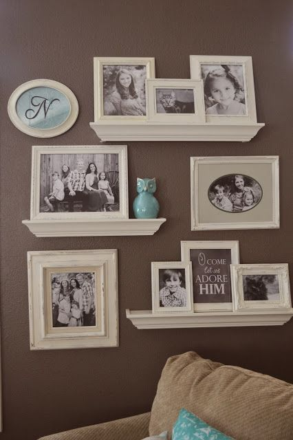 Jedi Craft Girl Gallery Wall Update Decor Home Decor Floating Shelves