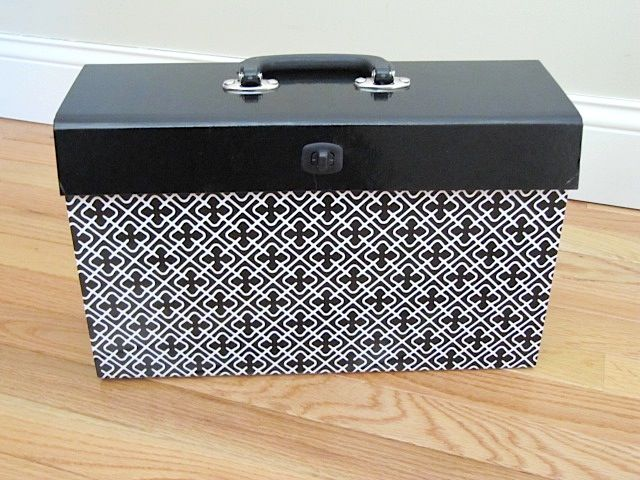 Nice File Box Cartonnage Pinterest Scrapbook Organization And Interesting Decorative File Folder Box