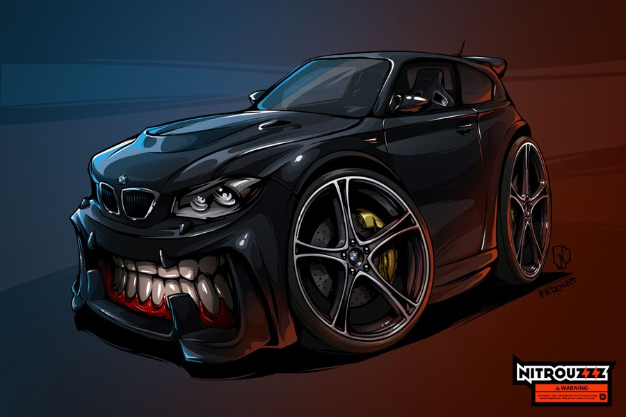 BMW 1series BeastedUp! on Behance Bmw 1 series, Car
