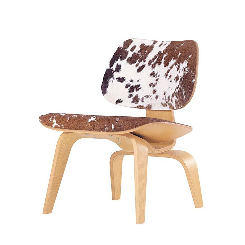 LCW Calfs Skin Fauteuil VITRA Silvera Decoration Chalet Style - Fauteuil design charles eames